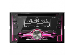 JVC 2DIN autorádio s CD/USB/2xAUX/Multicolor